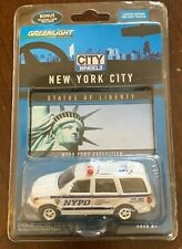 Greenlight Limited Edition City Wheels New York City Nypd Ford Expedition