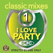 DMC Classic Mixes - I LOVE PARTY Vol 1 Mixed Music CD Feat Movie & Rockin' Mix