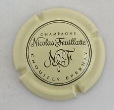capsule champagne NICOLAS FEUILLATTE n°30d crème et noir