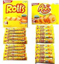^^ 20 x Nabati Richeese Ahh Triple Cheese Corn Stick + Rolls Cream Cheese Wafer