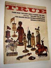 True The Man's Magazine May 1965 Chevy Sport Van Dodge Camp Wagon Ads Murder