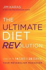 THE ULTIMATE DIET REVOLUTION (9780062321565) - JIM KARAS (HARDCOVER) NEW