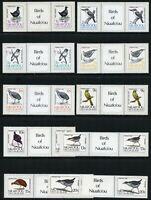 Niuafo'ou 1983 Vögel Freimarken Rallen Hühner 27-41 Stegpaare MNH / 341