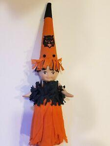 Vintage Handcrafted Artisan Halloween Kewpie Doll