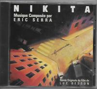 ERIC SERRA - Nikita - CD - Soundtrack - Virgin - 30732 - 1990 - France