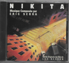 ERIC SERRA - Nikita - CD - Soundtrack - Virgin - 30732 - 1990 - France