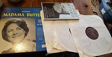 Puccini Madama Butterfly Vinyl LP Record Album (3 Records) NICE