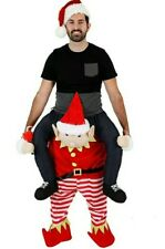 Elf Ride on Carry me costume, Adult X-Large Plus, not inflatable