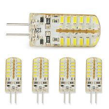 5 X G4 5W LED Corn Light Bulb AC DC 12V Silicone Warm White Energy Saving Lamp