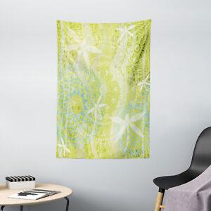 Animal Tapestry Dragonfly over Mandala Print Wall Hanging Decor