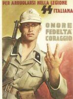 cartolina RIPRODUZIONE ITALIA MILITARE ILLUSTRATORE BOCCASILE repro postcard