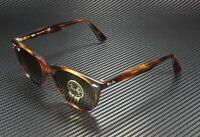 RAY BAN RB2185 954 33 Wayfarer II Stripped Havana Brown 55 mm Unisex Sunglasses