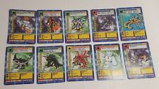 Lot Of 10 / 1st Edition Digimon Trading Cards - 1999 Bandai Excellent Condition