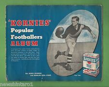 #T40. 1949  KORNIES ALBUM OF POPULAR FOOTBALLERS WITH ALL CARDS