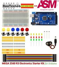 Starter Kit MEGA 2560 R3  for Arduino Breadboard LED Jumper Wire Button