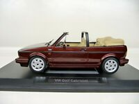 1:18 NOREV VW Golf 1 Cabriolet Classic Line red rot metallic NEU NEW