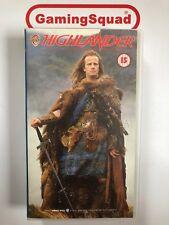 Highlander VHS Retro Video, Supplied by Gaming Squad Ltd