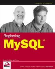 Beginning MySql by Sheldon, Robert , Paperback