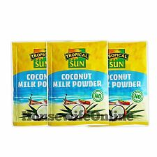 Tropical Sun Coconut Milk Powder 50g (Pack of 3)
