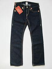 True Religion Bobby Big Super T Body Rinse Jeans Hose Denim Blau Neu 30