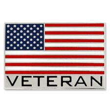 NEW Classy VETERAN FLAG Lapel Tie Pin Vietnam Korean War Private Staff Sergeant