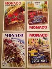 Monaco Grand Prix Postcard Set#7 To Find! 1st On eBay Car Poster. Own It!