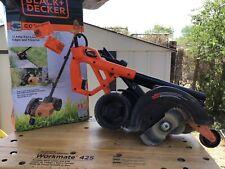 "Black and Decker 7.5"" 11 Amp 2 in 1 Landscape Edger & Trencher Model LE750"