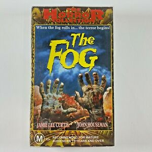THE FOG VHS RARE horror video Jamie Lee Curtis