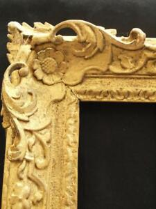 "17/18th CENTURY CARVED ORIGINAL GILT Painting Frame TO FIT 25""x30"" Picture"