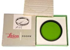 Leica 48mm Green Filter for 20cm Telyt & 9cm f2 Soozi,9cm f2.2 Thambar  #1