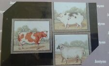 JANLYNN Counted Cross Stitch Kit~Farm Animals *Brand New in Factory Sealed Pkg*