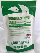 Bumbles Royal Jelly 500mg | Premium High Strength | 90 Capsules