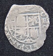 1652 1 REAL SILVER COB COIN FROM THE CONSOLACION SHIPWRECK POTOSI MINT TREASURE