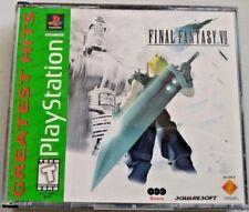 Final Fantasy VII (Sony PlayStation 1, 1997) GUARANTEED - PS1 - PSX - FF 7 - FF7