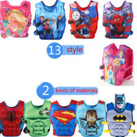 NEW LIFE JACKETS SWIMMING FLOATING SWIM ZIP VEST BUOYANCY AID JACKET FOR  KIDS