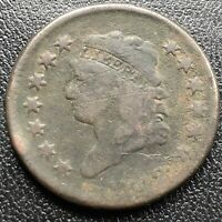 1812 Large Cent Classic Head One Cent 1c Rare Circulated #17714