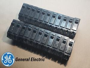 22X GE GENERAL ELECTRIC 20 AMP CIRCUIT BREAKER SINGLE POLE TYPE THQB (LOT OF 22)