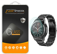 3X Supershieldz Samsung Gear S3 Frontier Tempered Glass Screen Protector Saver