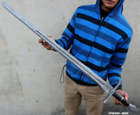 JJhunters Custom Handmade Damascus Steel 36In Sword With Black Mackta Handle=IM5