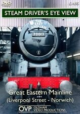 Steam Driver's Eye View - Great Eastern Mainline (Liverpool St - Norwich)  *DVD