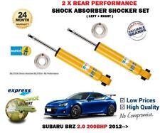 para el SUBARU BRZ 2.0 200bhp 2012- > 2x trasero Izquierdo Derecho Amortiguador