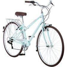 Women's Hybrid Bike Mint Green 700c Schwinn Admiral Cycling Shimano New