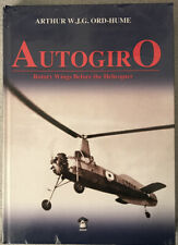 AUTOGIRO - ROTARY WINGS BEFORE THE HELICOPTER - SLIGHT DAMAGED CORNER