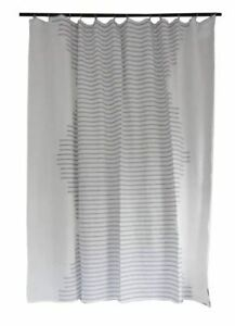 Printed Microdot Shower Curtain Black//White Project 62™