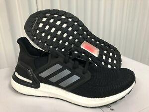 Wmns Adidas Ultraboost 20 W Black Silver White 10.5 EG0714 Running Shoes Mens9.5