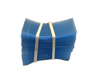 [250] 45x23 Heat Shrink Neck Wrap Band Cut for Boston Round Bottle Tamper Seal