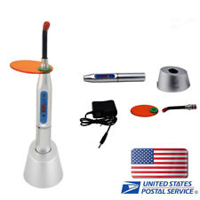 [USA] Dental 10W  LED Curing Light Lamp Machine 2000mw Wireless Silver