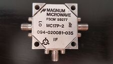 Magnum Microwave Frequency Mixer MC17P-2 RF/LO:1.0-5.0GHz IF:DC-500MHz