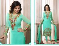 Indian salwar kameez dupatta A Line pakistani embroidered buy ethnic ladies suit