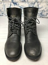 Diesel Leather Boots Distressed Mens Size 8